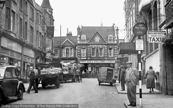 Wellingborough, Midland Road 1950