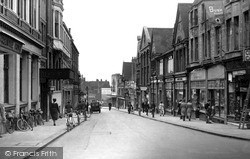 Wellingborough, Midland Road c.1950