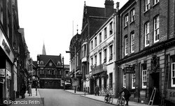Wellingborough, Midland Road c.1955