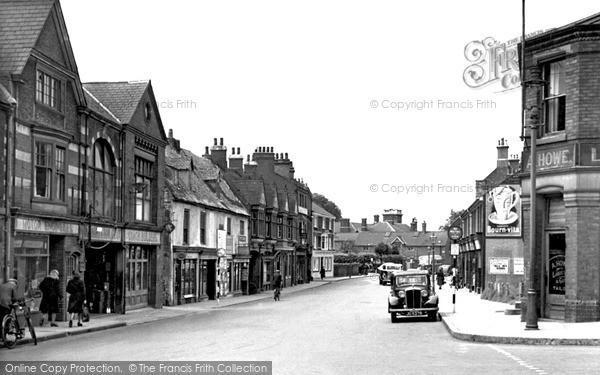 Wellingborough, Oxford Street c1950