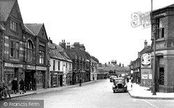 Wellingborough, Oxford Street c.1950