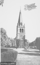 Wellingborough, Parish Church c.1965