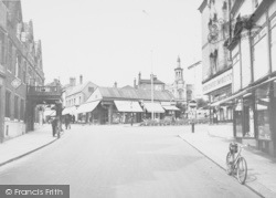 Wellingborough, Sheep Street c.1955