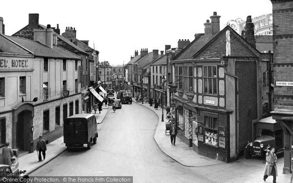 Photo of Wellingborough, Silver Street c.1950