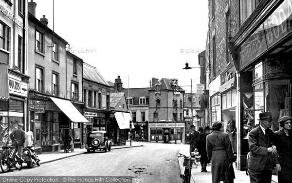 Wellingborough, Silver Street c.1950