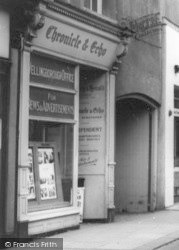 Wellingborough, The Chronicle And Echo, Silver Street c.1965