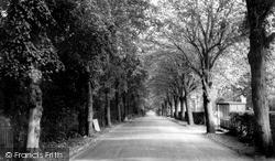 Wellingborough, The Walks, London Road c.1965