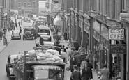 Wellingborough, Traffic in Midland Road 1949
