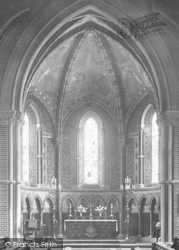 Wellington College, Chapel Altar 1923