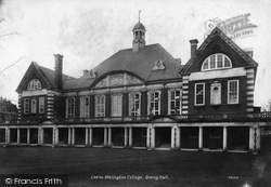 Wellington College, Dining Hall 1908