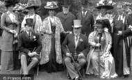 Wellington College, King Edward VII at Wellington College 1909