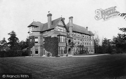 Wellington College, Mr Bevir's House 1908
