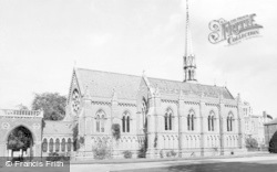Wellington College, The Chapel c.1955