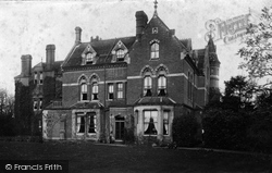 Wellington College, The Towers 1908