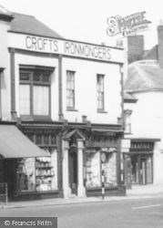 Wellington, Croft's Ironmongers c.1960