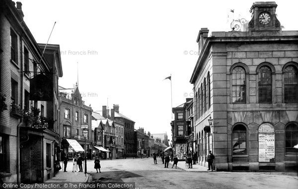 Wellington, Fore Street 1912
