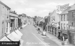 Wellington, High Street 1938