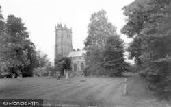 Wellington, Parish Church c.1965