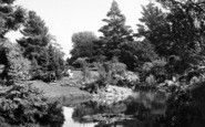 Wellington, Park, The Lake c.1950