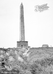 Wellington, The Monument c.1955