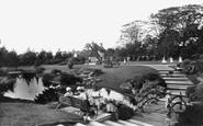 Wellington, The Park 1912
