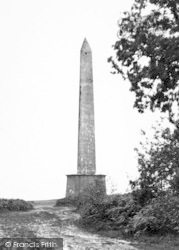 Wellington, The Wellington Monument c.1950