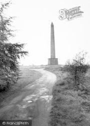 Wellington, Wellington Monument c.1965