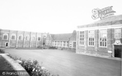 Wellington, Wellington School c.1955