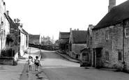 Wellow, High Street, looking east c1955