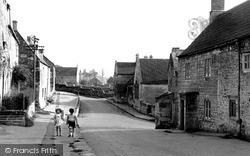 High Street, Looking East c.1955, Wellow