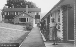 Pensioner Cottages And Manor Close c.1965, Wellow