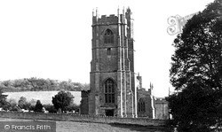 St Julian's Church c.1955, Wellow
