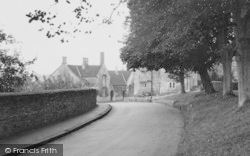 The School House c.1955, Wellow