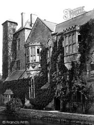 Wells, Bishop's Palace c.1874