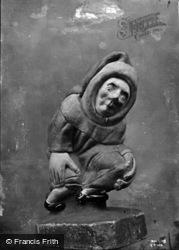 Wells, Cathedral, Bishop Beckington's Jester c.1920