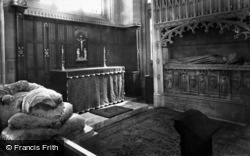 Wells, Cathedral, Chapel Of St Calixtus c.1920