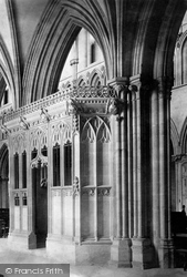 Wells, Cathedral, Chapel Of St Edmund 1890
