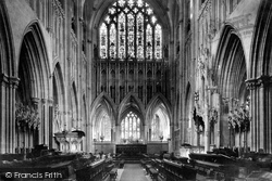 Wells, Cathedral Choir East 1890