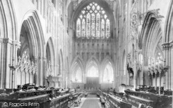 Wells, Cathedral, Choir East 1892