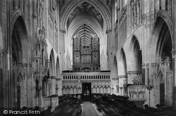 Wells, Cathedral Choir West 1890