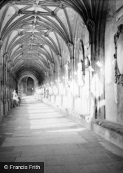 Wells, Cathedral Interior 1951