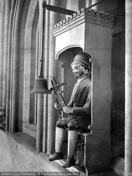 Photo of Wells, Cathedral, Jack Blandiver 1906