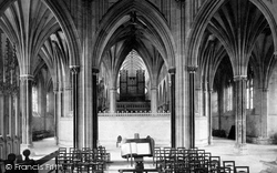 Wells, Cathedral, Lady Chapel 1890
