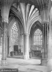 Wells, Cathedral, Lady Chapel 1923