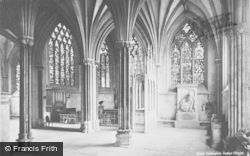 Wells, Cathedral, Ladye Chapel c.1900