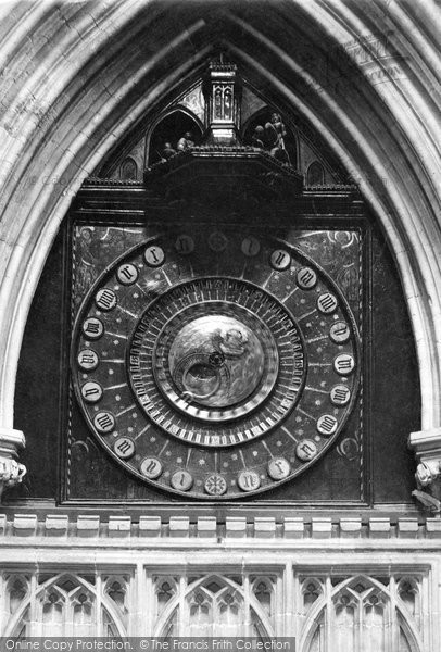 Photo of Wells, Cathedral, Lightfoots Clock 1892