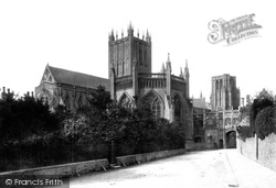 Wells, Cathedral North East 1890