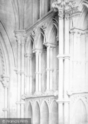 Wells, Cathedral, North Porch 1890