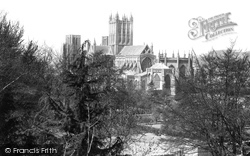 Wells, Cathedral, South East  1890