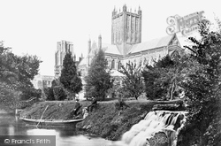 Wells, Cathedral South East c.1862